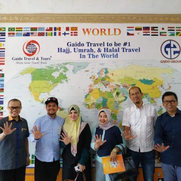 Rambah Travel Haji dan Umrah, Indra Bekti Datangi Kantor Gaido Travel